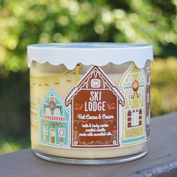 Bath & Body Works Hot Cocoa & Cream 3 Wick Candle